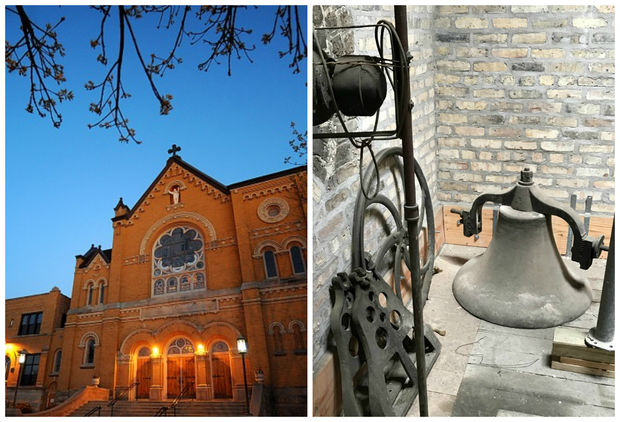 Logan Square Preservation has teamed up with St. John Berchmans to restore the original church bell, which hasn't sounded for nearly 90 years.