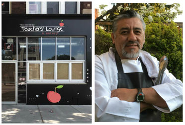 With the Chicago Teachers Lounge and Eatery, veteran chef Raul Ramos wants to put teachers first.