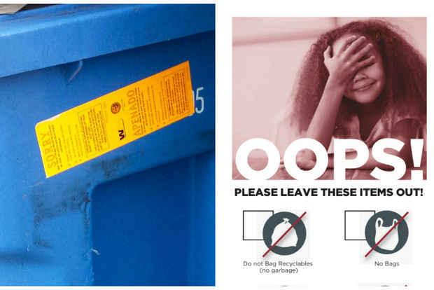A friendlier, more informative recycling education campaign is about to hit Chicago's alleys.
