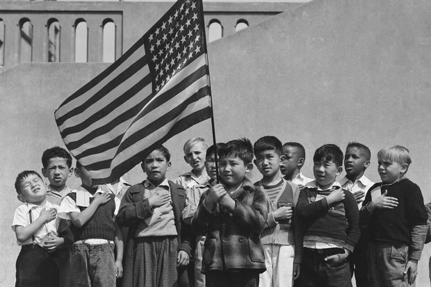 Dorothea Lange and Ansel Adams shot pictures of Japanese-American relocation in 1942.