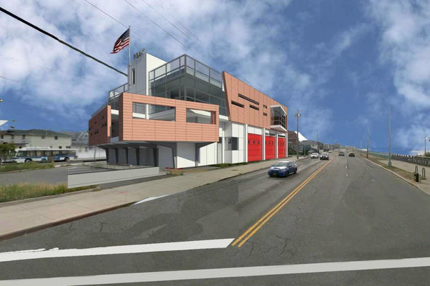 The flood resilient firehouse will be built with its utilities above the flood level, officials said.