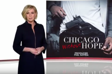 Australian journalist Liz Hayes reports on Chicago violence for that country's