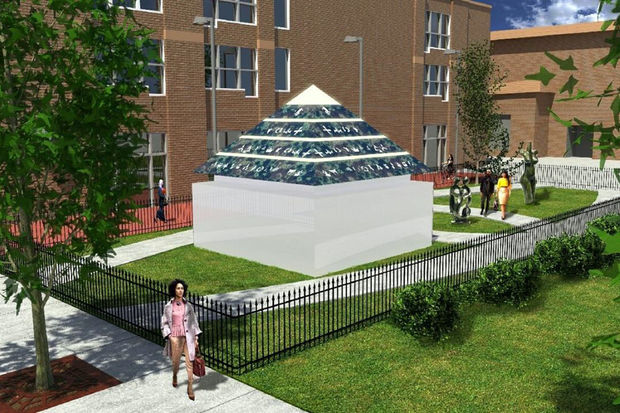 The new sculpture park next to Gallery Guichard will include a