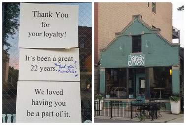Jane's at 1655 W. Cortland St. is closing this weekend.