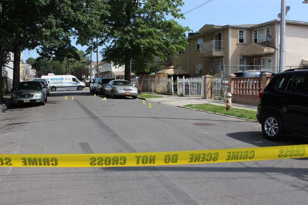 A woman, 27, was fatally shot in the head and a man, 28, was fatally shot in the back in a triple shooting on 170th Street in Jamaica, police said.