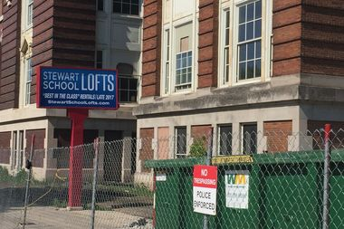 CPS teacher and Uptown resident Erika Wozniak first noticed the sign outside the shuttered Graeme Stewart School, 4525 N. Kenmore Ave., about two weeks ago and tweeted out the photo, leading to a debate with Ald. James Cappleman (46th).