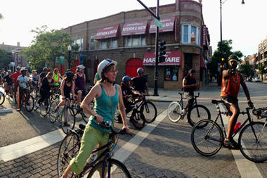 Thursday's ride coincides with the opening of the Argyle Night Market.