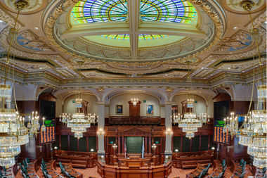 The Illinois House chambers