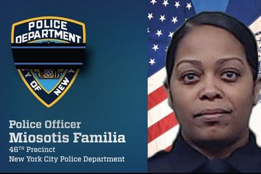 NYPD Officer Miosotis Familia was shot dead in The Bronx early Wednesday.