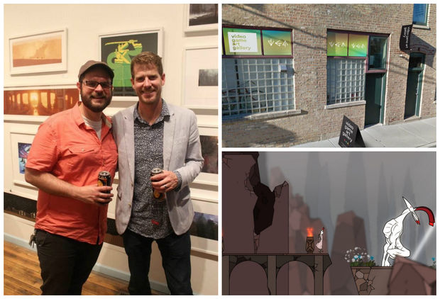 Video Game Art Gallery is taking over an old photography dark room in the Bloomingdale Arts Building at 2418 W. Bloomingdale Ave. #10. It will feature the work of video game developers from Chicago and around the world.