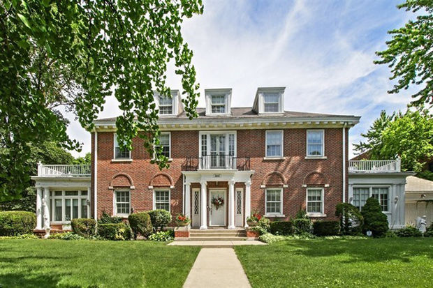 The home at 6855 S. Euclid Ave. is one of the largest homes currently on the market in Chicago for less than $1 million.