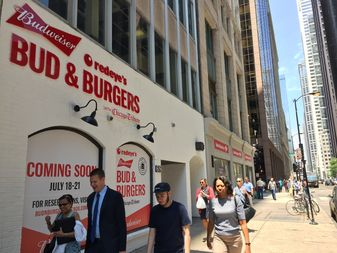 5 Beer Burger Combos For Charity Coming To Former Loop Wendy S The Loop Chicago Dnainfo