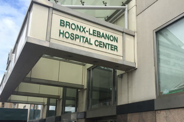 A woman says she was sexually assaulted in the emergency room of Bronx-Lebanon hospital.