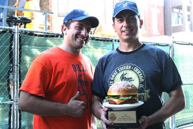 Roscoe Village Burger Fest 2017