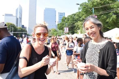 Approximately 1.6 million people attended the 37th Taste of Chicago, the highest on record since the festival moved to a five-day format in 2012, the mayor's office said.