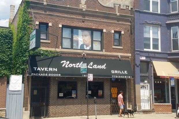 Chris' North Land Tavern and Grill at 1610 W. North Ave. was closed by the city on Friday. A sign states the closure is for 30 days.
