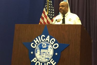 Chicago Police Supt. Eddie Johnson