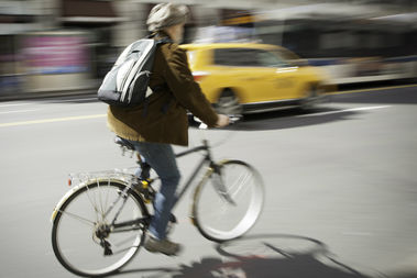 The number of cyclists on the streets has increased, but bicyclist deaths remain constant.