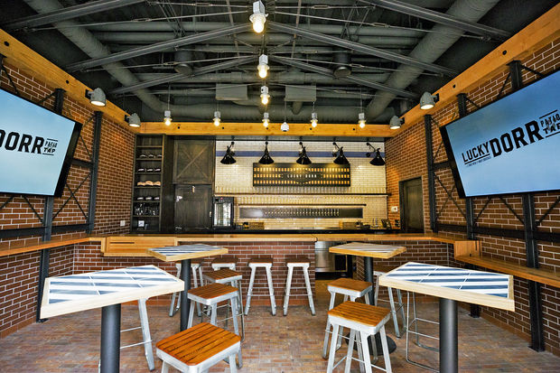 The second restaurant at the Park at Wrigley opens Tuesday in Wrigleyville.