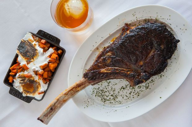 Photos from Steak 48, a new steakhouse opening Friday in River North.