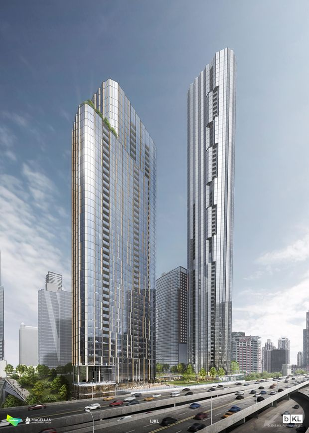 80 Story Tower Would Anchor Big New Developments Off Lake