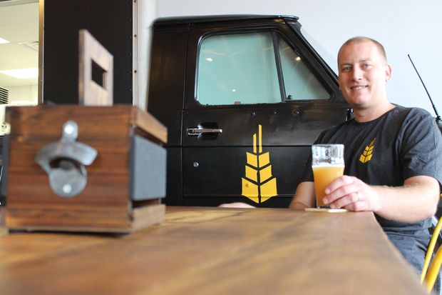 John Brand is eager to debut Open Outcry Brewing Co. at 10934 S. Western Ave. in Morgan Park. The brewery will feature Brand's beer unique recipes and a kitchen serving Neapolitan pizzas and more.