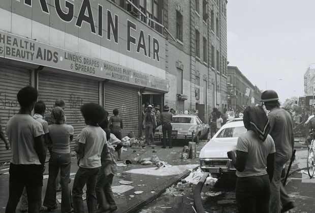 """The 1977 Blackout sparked looting and arson along Broadway in Bushwick, while a subsequent fire dubbed """"The All Hands Fire"""" reduced several city blocks to rubble."""