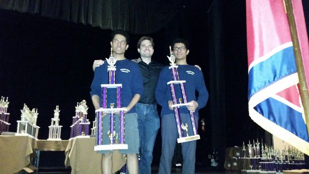 Nikhil and AkhilKalghatgi recently won their third national chess championship and have been playing chess since they were in first grade.