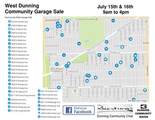Dunning 'Community Garage Sale' Set To Take Over Neighborhood This