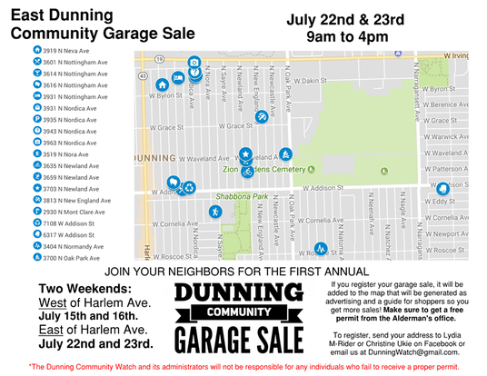 Dunning Community Garage Sale Set To Take Over Neighborhood This – How To Plan A Garage Sale