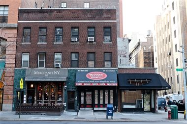 The former Merchants NY space, at 112 Seventh Ave. near West 17th Street.