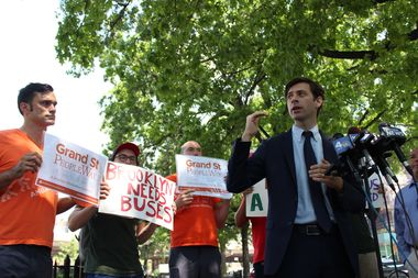 City councilman Stephen Levin and other state politicians are asking for more details on the L train shutdown alternative service plans.