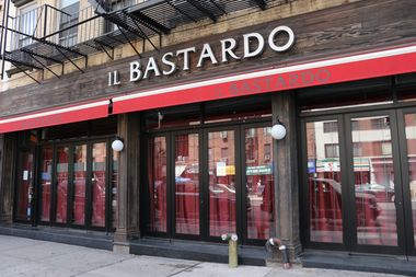 The former Il Bastardo space, at 191 Seventh Ave., between West 21st and 22nd streets.