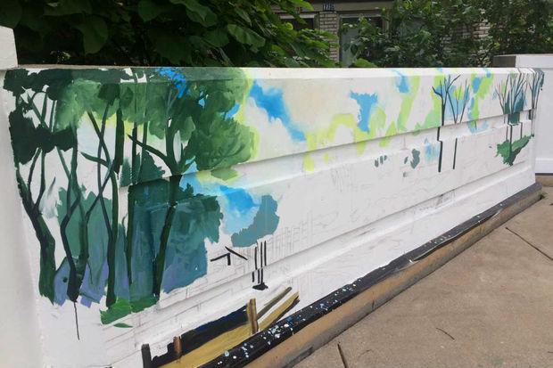 Wilson Bridge Mural
