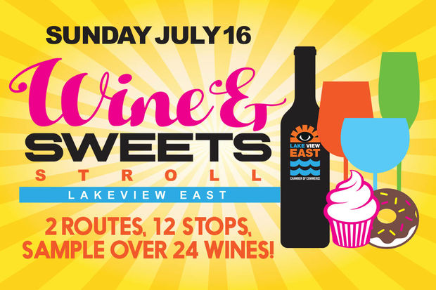 The annual Wine and Sweets Stroll has gotten twice as large this year.