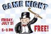 Barrett Park Hosting Game Night July 21