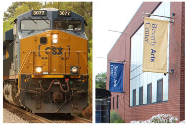 CSX Transportation and an anonymous corporate donor agreed to fund matching grant up to $10,000 to benefit the Beverly Arts Center. Instead, the community arts center raised slightly more than $16,000 as of Thursday.