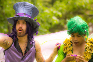 Saturday's festival at Horner Park has something for everyone, including Theatre Hikes'
