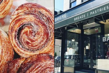 Bakerie opened Monday at 252 Albany Ave. in Crown Heights.