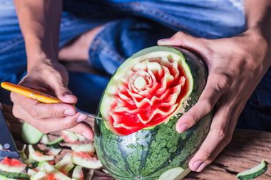 Try your hand at watermelon carving this Wednesday night at Easy Bar.
