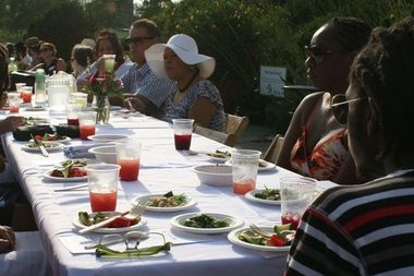 Green City Market and the Chicago Park District will host a Big Table Dinner from 5:30–7:30 p.m. Sunday at Ridge Park.