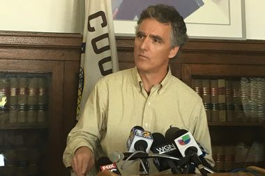 Cook County Sheriff Tom Dart announces that he has identified James