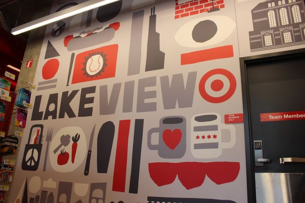 Target opened its first Lakeview store, with a grand opening planned for Sunday.