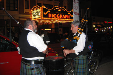 The John Dillinger Died for You Society holds an event on the 83rd anniversary of the gangster's death Saturday, ending with a bagpipe procession to the Biograph Theater.