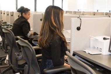 A new civil service testing center opened at 118-35 Queens Blvd. Thursday.