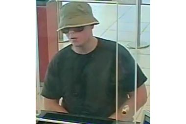 Police on Wednesday arrested a man who tried and failed to rob three banks in lower Manhattan.