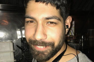 Neftaly Ramirez was biking home from his shift at Paulie Gee's when he was hit, staff said.