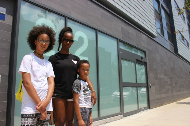 With so few affordable housing units available under the provision, Rameka Aton, 33, and her two children, ages 12 and 7, don't have a good chance of getting into one of the luxury buildings.