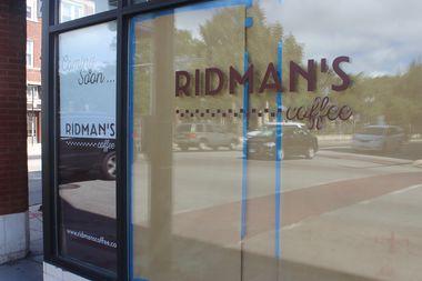 Ridman's Coffee will open in