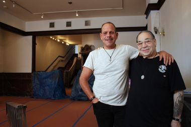 Mark Thomas and Michael Markellos will partner on The Alley 1776, a coffee shop with a smaller retail store on the second floor.